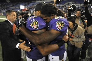 Torrey Smith emotional after playing