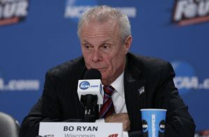 Bo Ryan had sour grapes instead of gracefully taking the loss (photo courtesy of www.fansided.com)