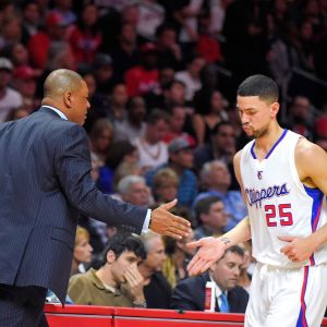 Doc and Austin Rivers share a moment. (photo courtesy of www.espn.com)