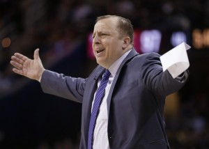 Tom Thibodeau may be going to a new place to coach after this postseason performance. (photo courtesy of www.washingtonpost.com)