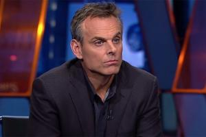 Colin Cowherd is gone from ESPN, but not the way he expected to be gone. (photo courtesy of www.si.com)