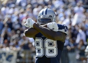 X marks the spot. But when will Dez sign and will he sign a new deal or a franchise tag? (photo courtesy of www.isportsweb.com)