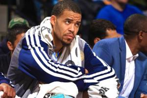 One of the league's most athletic centers, JaVale McGee remains jobless. (photo courtesy of www.bleacherreport.com)