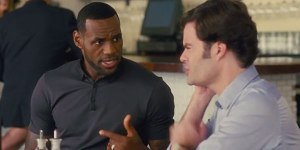 LeBron James caught the acting bug in Trainwreck, but is a Space Jam sequel on the way? (photo courtesy of www.cinemablend.com)