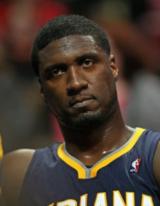 Roy Hibbert is headed West to play with the Los Angeles Lakers. (Photo by Jonathan Daniel/Getty Images)