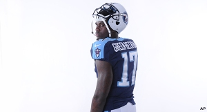 Dorial Green-Beckham has a bunch of potential. But what does that mean for Year One with the Titans? (photo courtesy of www.titansonline.com)
