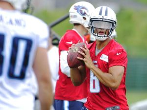 Marcus Mariota has one game under his belt. But what was seen at practice can tell you what else we can expect or should see from him this season. (photo courtesy of Samuel M. Simpkins/The Tennessean)