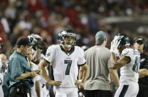 The look of consternation was all over Sam Bradford's face during Week 1 (photo courtesy of Brynn Anderson/AP)