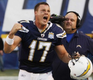 Phillip Rivers has a challenge this week versus the Pittsburgh Steelers. (photo courtesy of www.creatingculturewordwide.com)